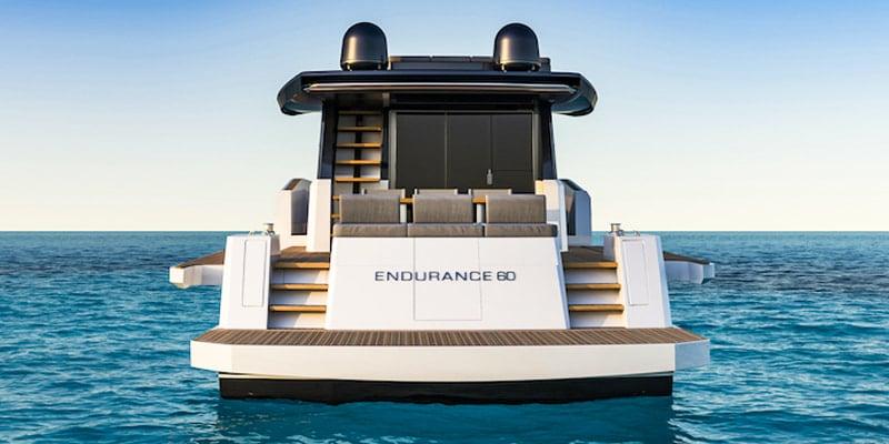 Pardo Endurance 60, stern