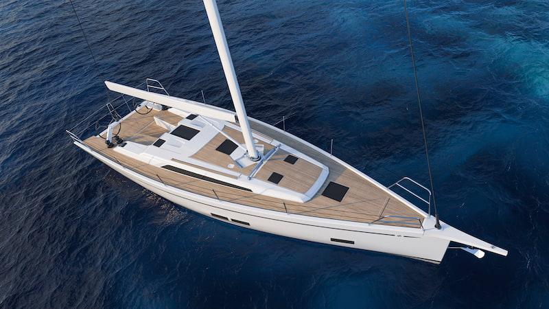 GS 44 Performance, deck