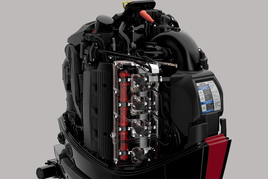 Mercury 450R V8 4-6L engine