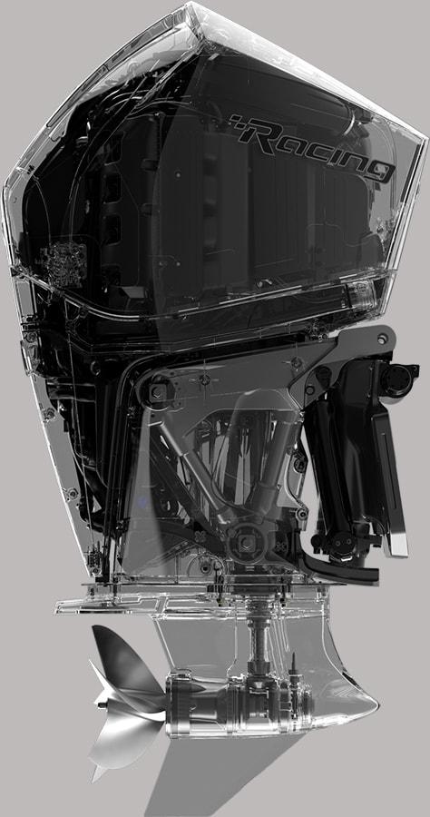 Mercury 450R, technology