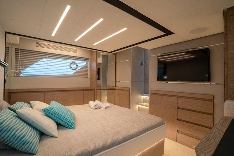 filippetti sport 55, master cabin
