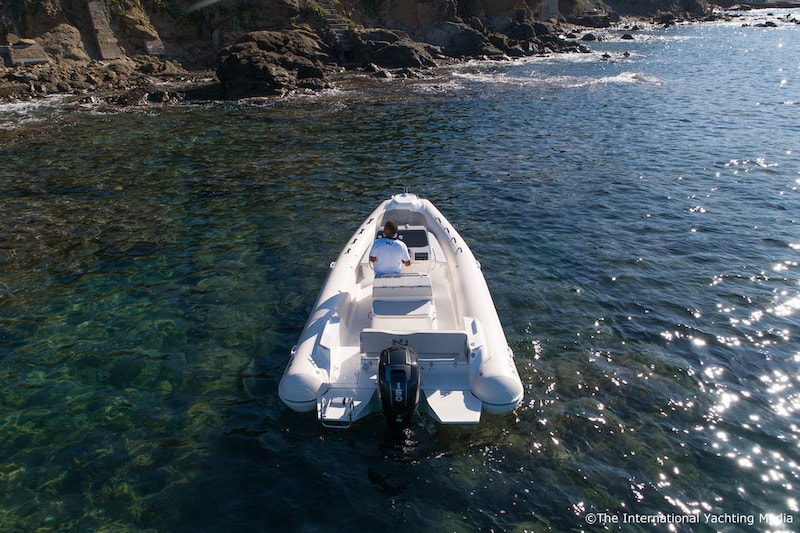 Nuova Jolly NJ 650 XL, outboard
