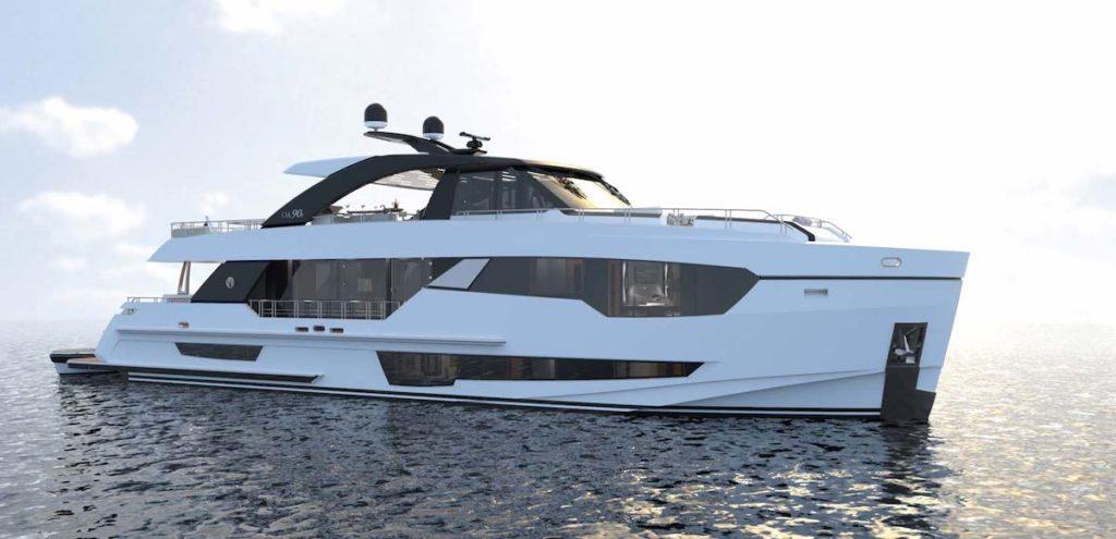 Ocean Alexander 90R Open