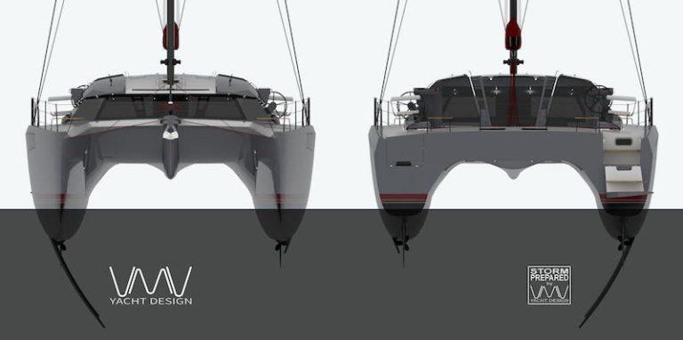 VMV 53 catamaran
