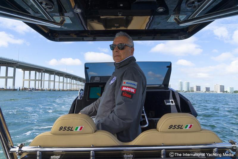 Zar 95 SL Sea trial with Sergio Davì