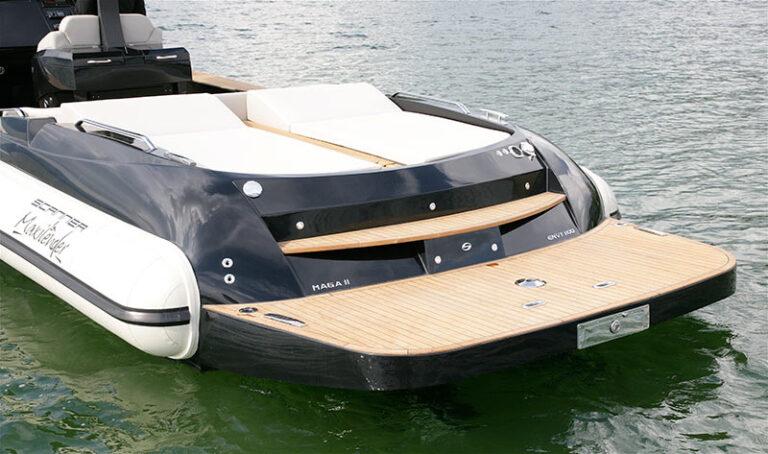 Envy 1100 TT inboard-outboard version