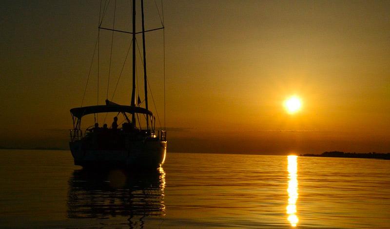 marinas and sailboats