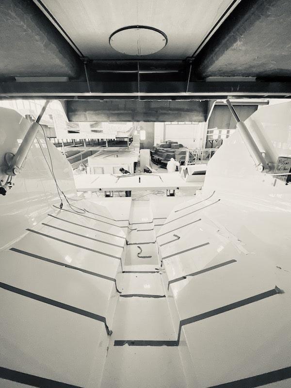 Franchini Mia 63 tender garage