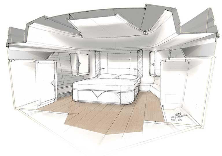 Franchini Mia 63 interiors