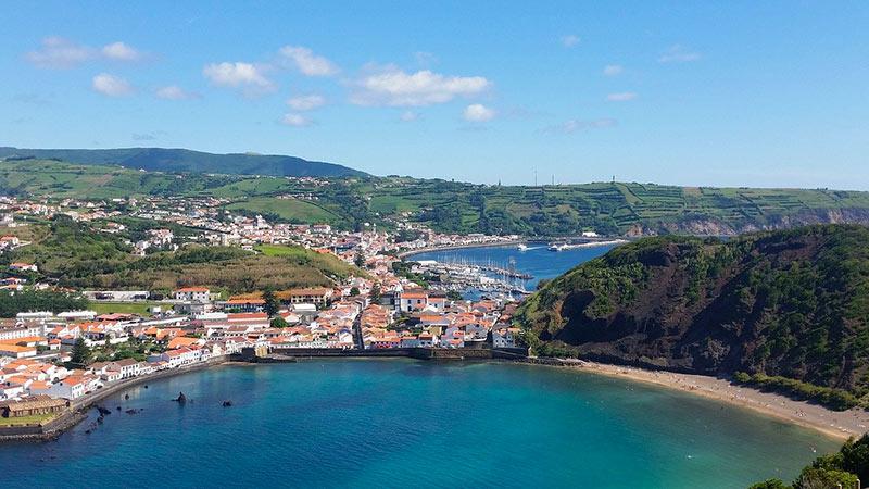 Sailing itineraries Azores Horta