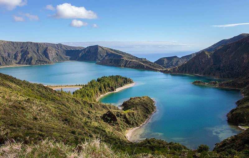 Sailing itineraries Azores Lagoa do Fogo
