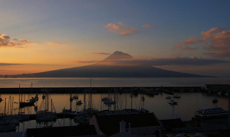 Sailing itineraries Azores Pico