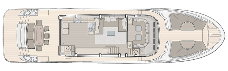 MCY-76-Skylounge-Main-Deck-Galley-aft