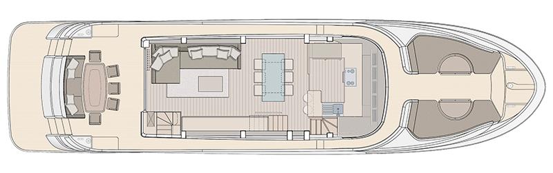MCY-76-Skylounge-Main-Deck-Galley-forward