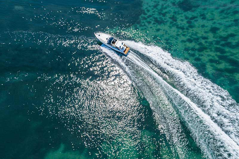 Rio Yachts Paranà 38, turn