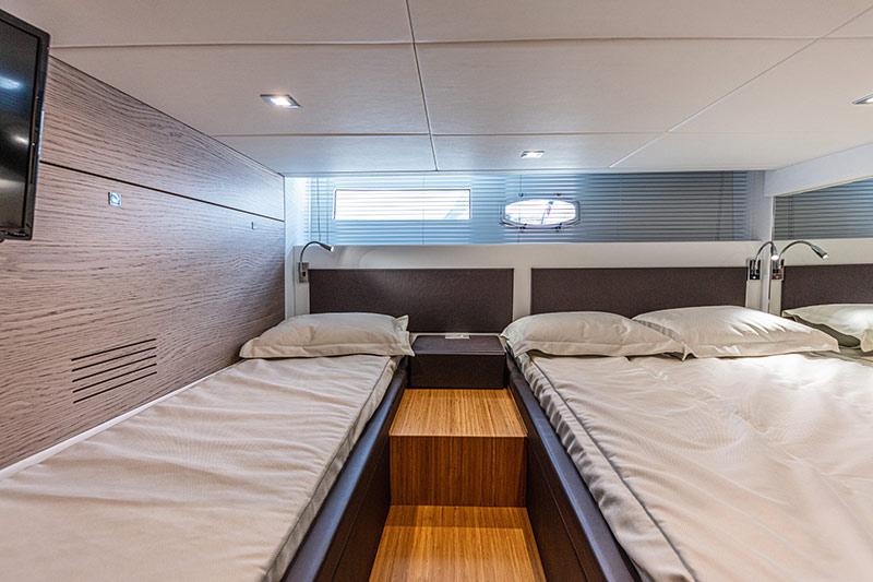 Rio Yachts Paranà 38, vip cabin