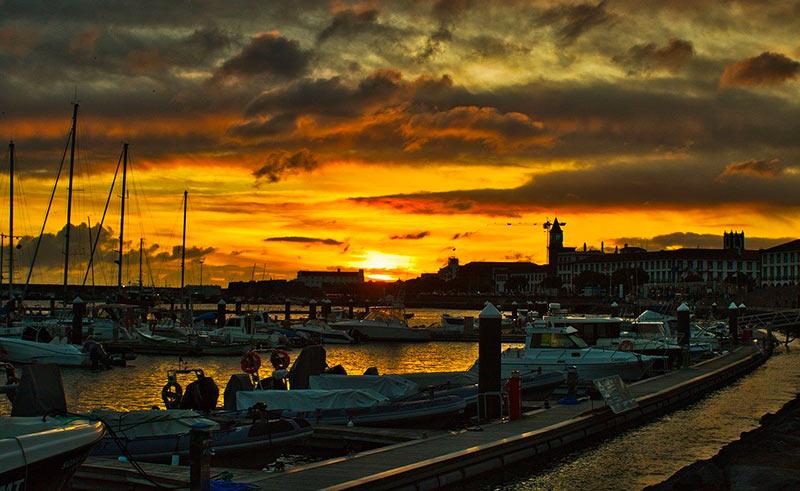 sailing itineraries sao miguel ponta delgada
