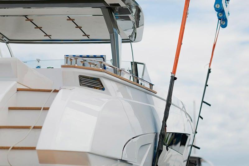 Franchini Mia 63 deck