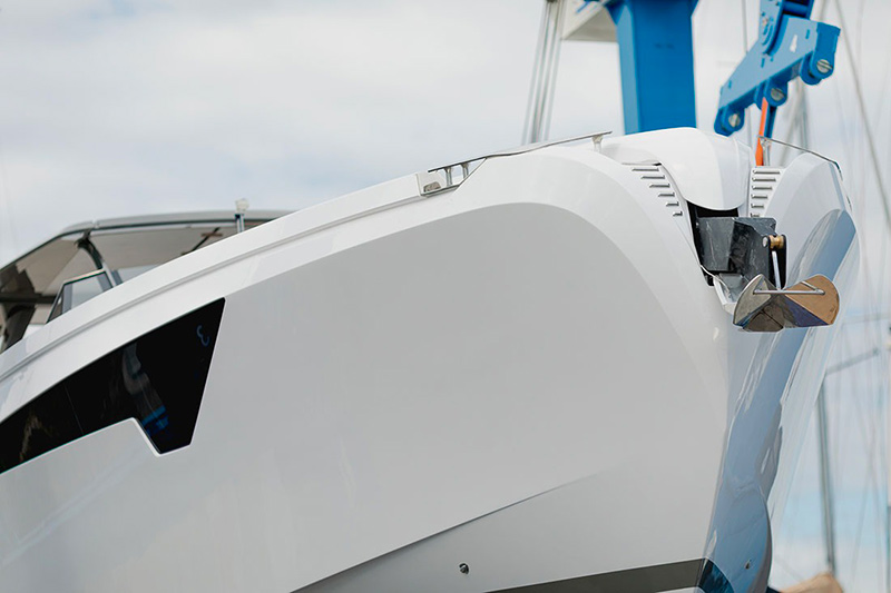 Franchini Mia 63 inverted bow