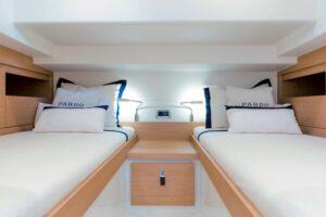Pardo 38 double cabin