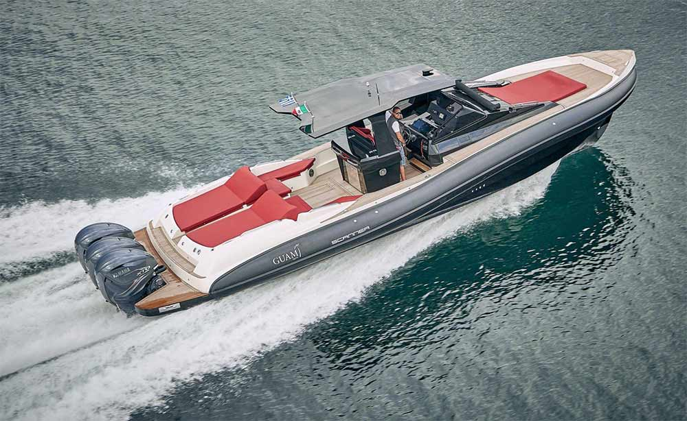 Scanner Marine boat shows