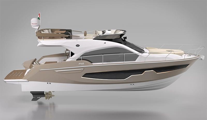 Sessa Marine Fly 42 project