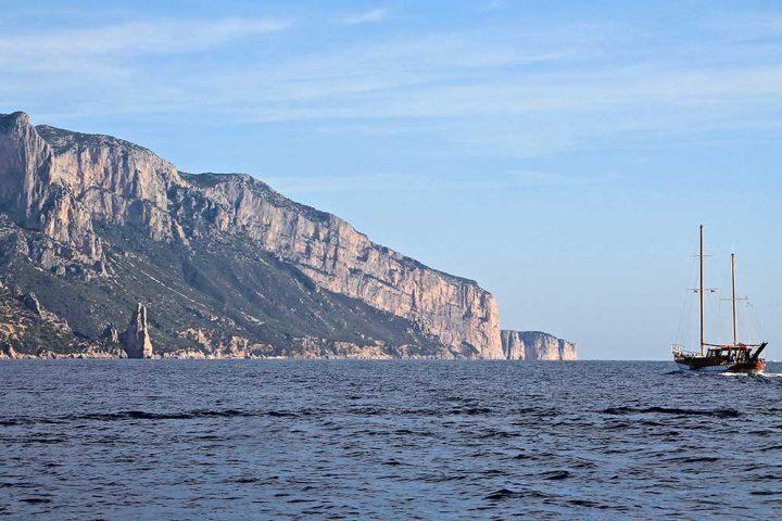 sailing itineraries Orosei Sardinia