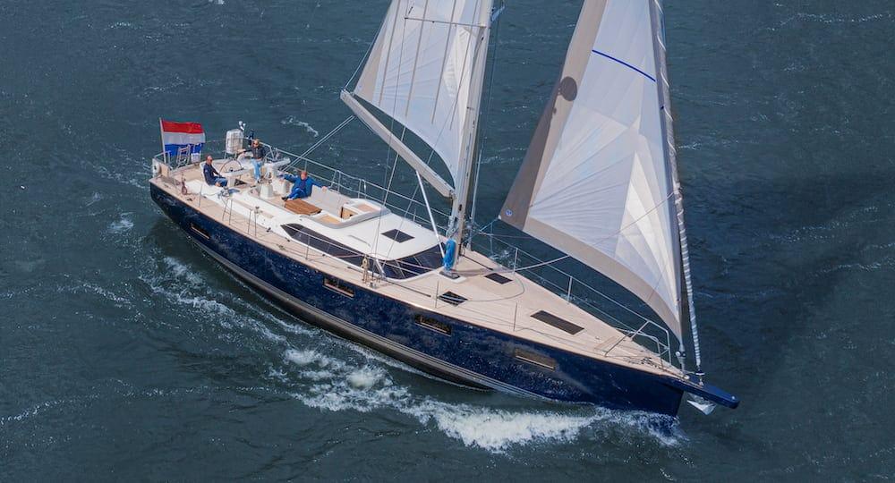 Contest 55CS Sea Trial