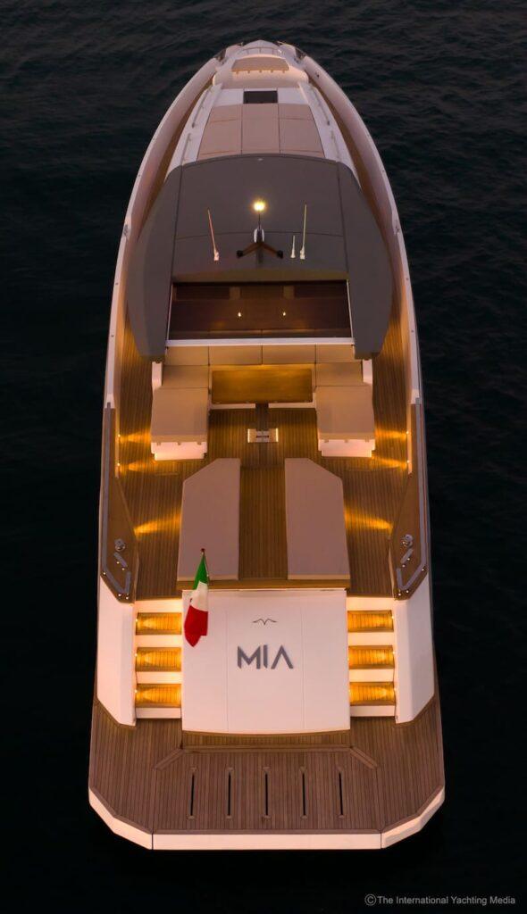 Franchini Mia 63 Sea trial elegance