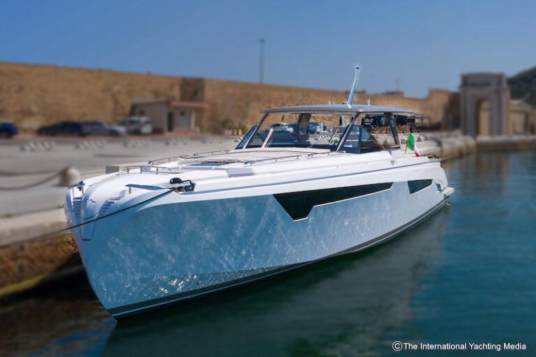 Franchini Mia 63 Sea trial, mooring