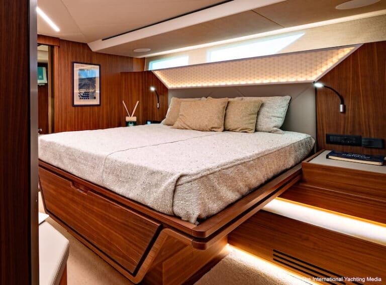 Franchini Mia 63 master cabin