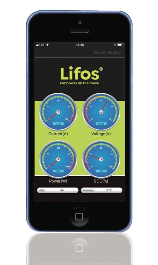 Osculati LIFOS battery