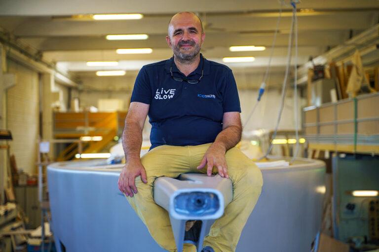 Paolo Ferrari Ice Yachts