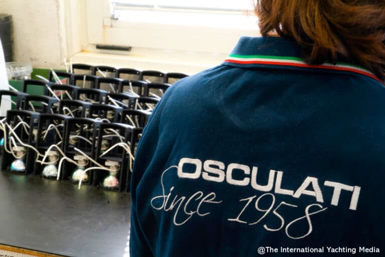 Osculati assembly department