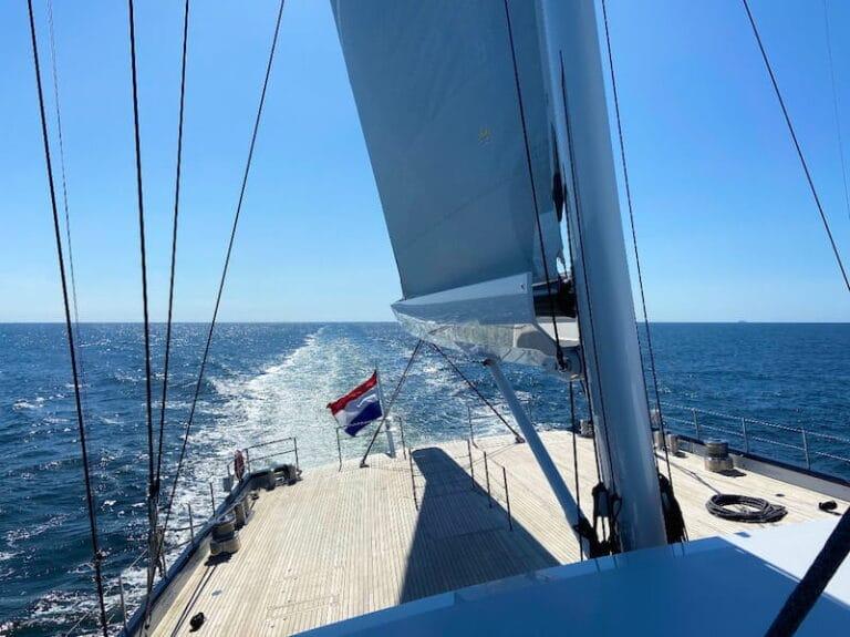 Sea Eagle stern