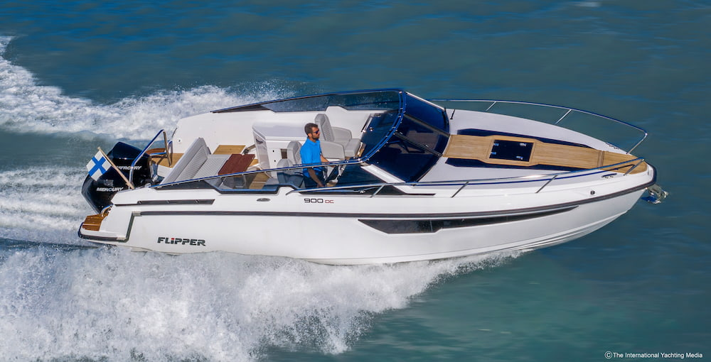 Flipper 900 DC sea trial