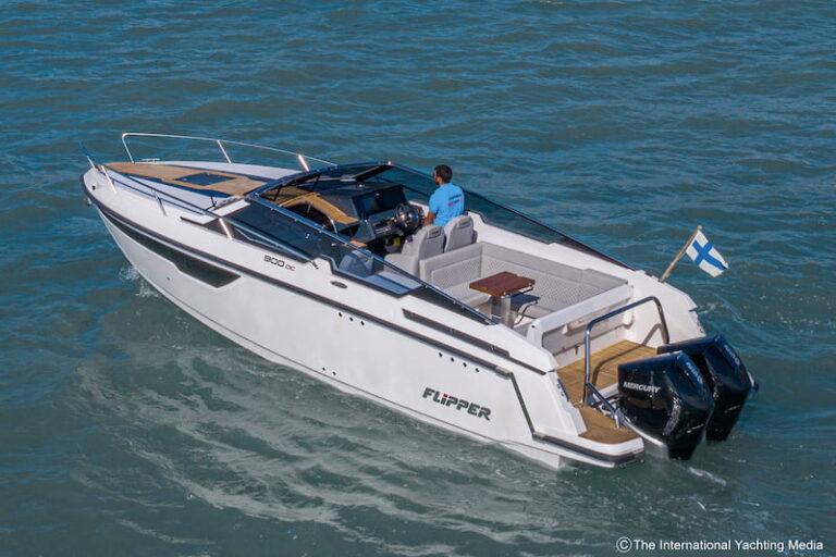 Flipper 900 DC stern