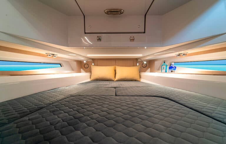 Prince 50 world premiere master cabin