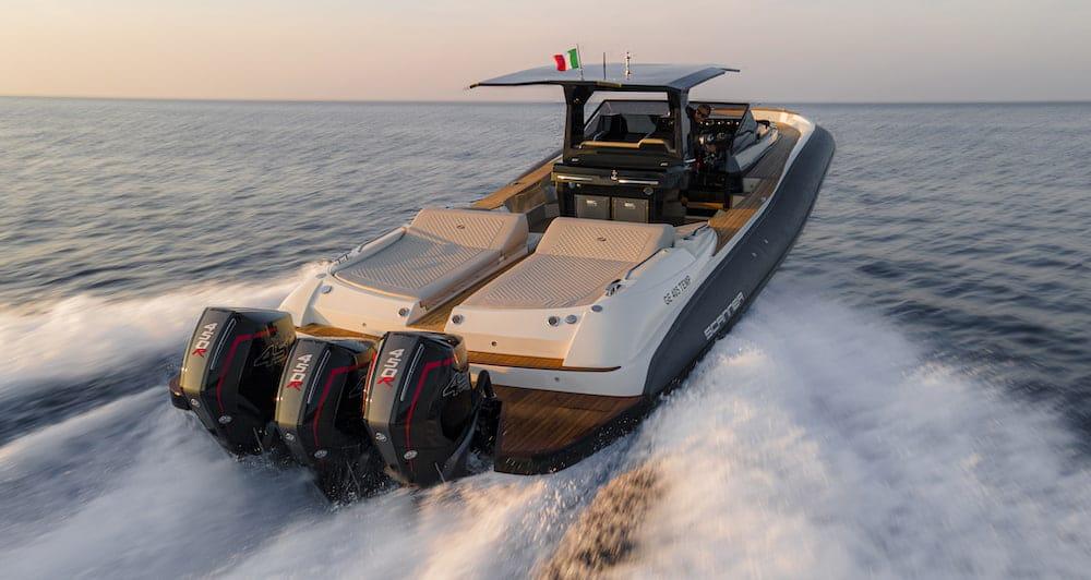 Scanner Envy 1400 Sea trial