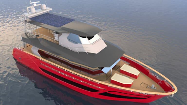 Fabiani yacht 77 Ibrida