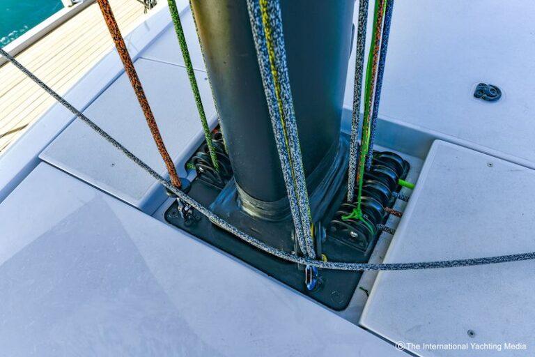 Ice 54 mast rigging