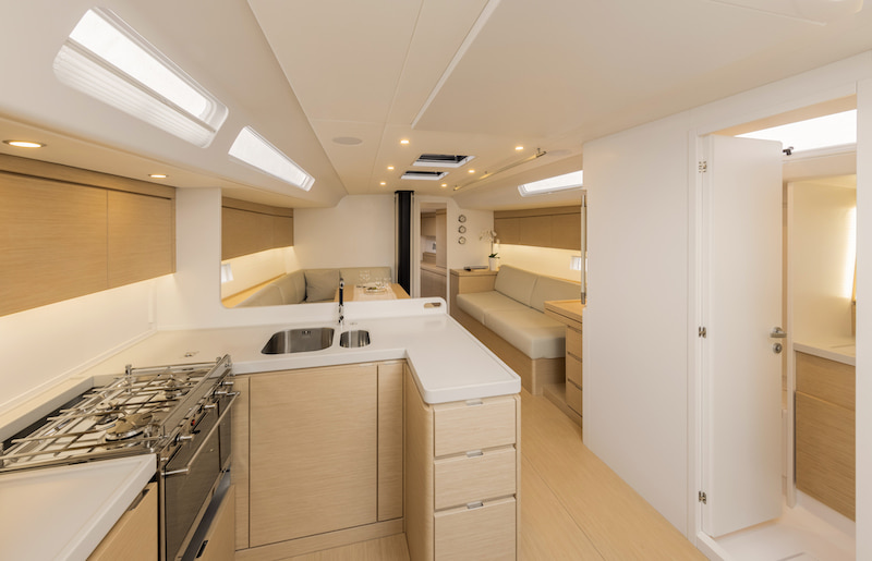 Ice Yachts 54 galley