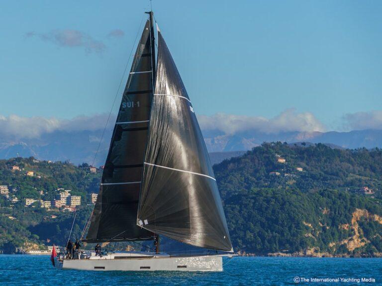 Ice Yachts 54, sails
