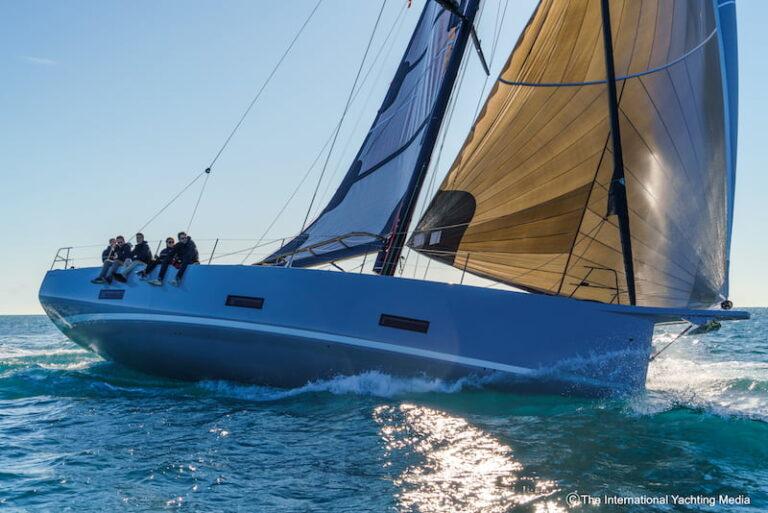 Ice Yachts 54 upwind navigation
