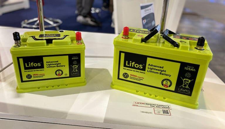 Lifos batteries
