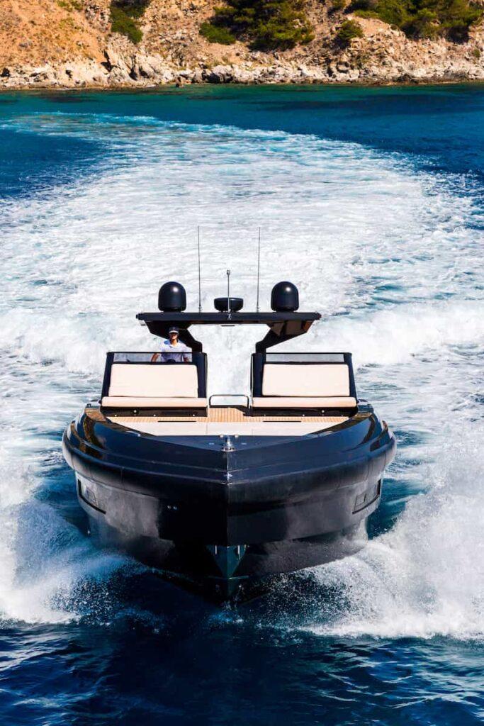 Superocean 58 bow