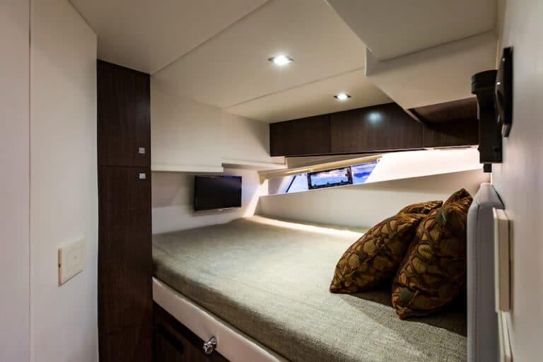 Superocean 58 guest cabin