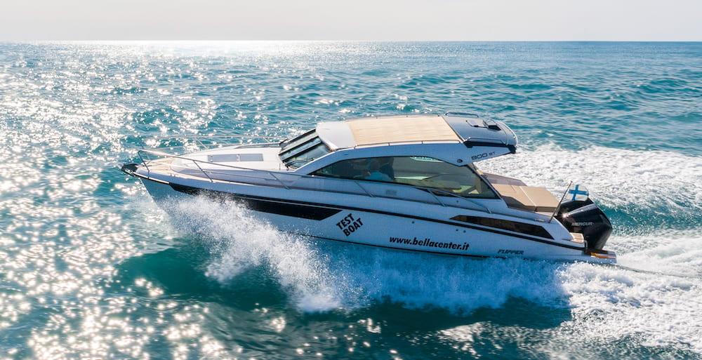 Flipper 900 ST Sea Trial