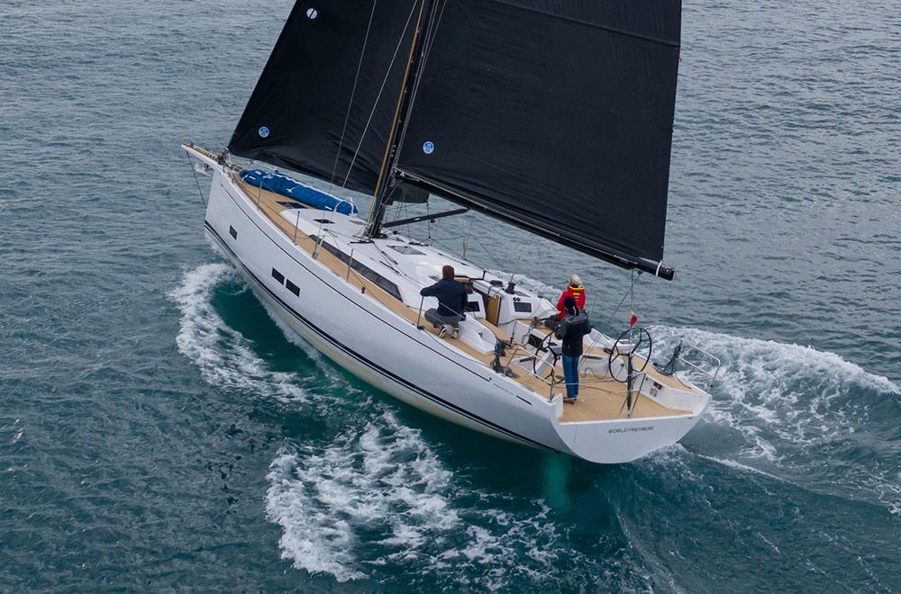 GS 44 Performance Sea trial