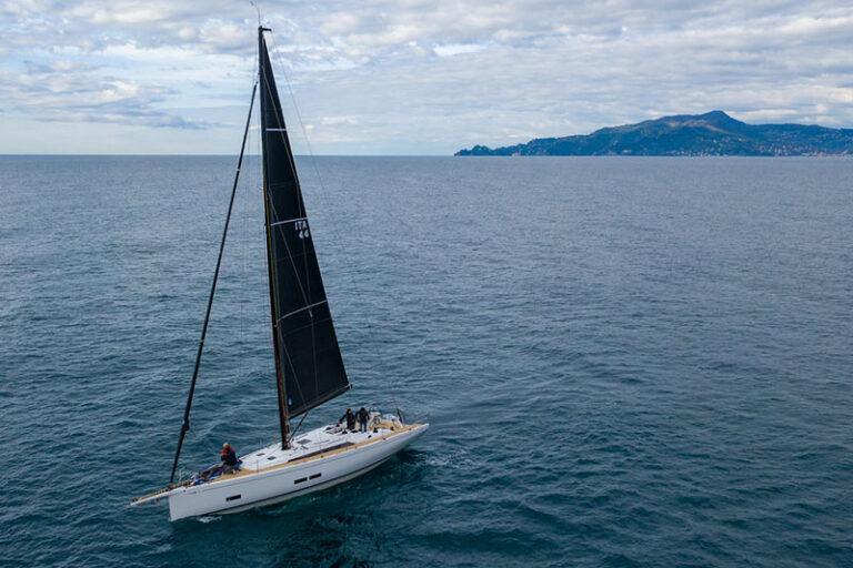 GS 44 Performance, sea trial